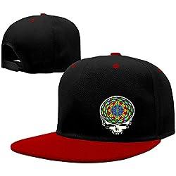 Grateful Dead Color Head Visor Hats Hip-Hop Cap
