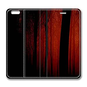 iPhone 6 Case, iPhone 6 Leather Case, Fashion Protective PU Leather Slim Flip Case [Stand Feature] Cover for New Apple iPhone 6(4.7 inch) - Bloody Forest 2