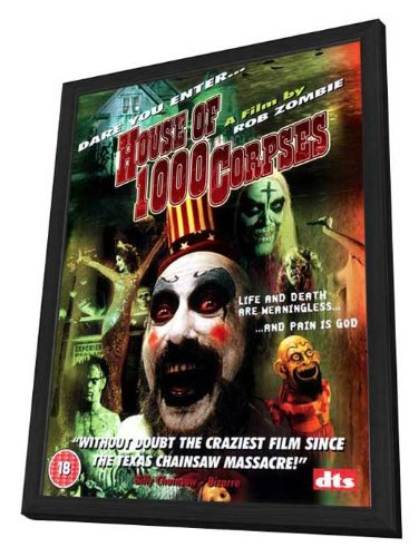 Amazoncom House Of 1000 Corpses 27 X 40 Framed Movie Poster