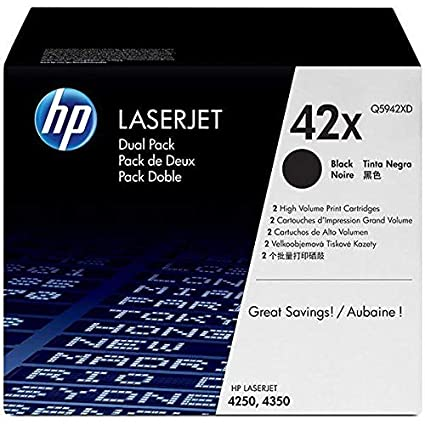 HP Q5942XD - Cartucho de tóner Doble para Impresora láser 4250 ...
