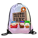 Cheap Unisex South Park Drawstring Bag Outdoor