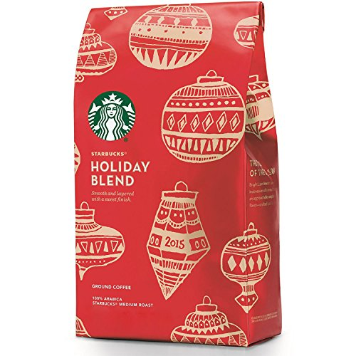 Starbucks Holiday Blend Justification Coffee - Soft & Layered 10 oz