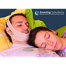 Best Snoring Solution for Open Mouth Snorers - Premium Quality Stop Snoring Jaw Strap - Top Stop Snoring Aid. (OPEN MOUTH SNORERS ONLY)