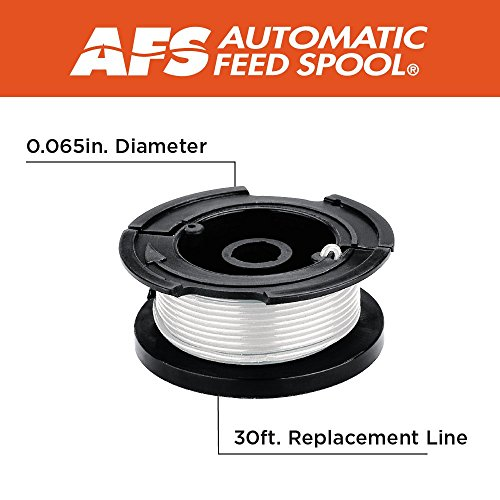 "BLACK+DECKER AF-100-3ZP 30ft 0.065"" Line String Trimmer Replacement Spool, 3-Pack"
