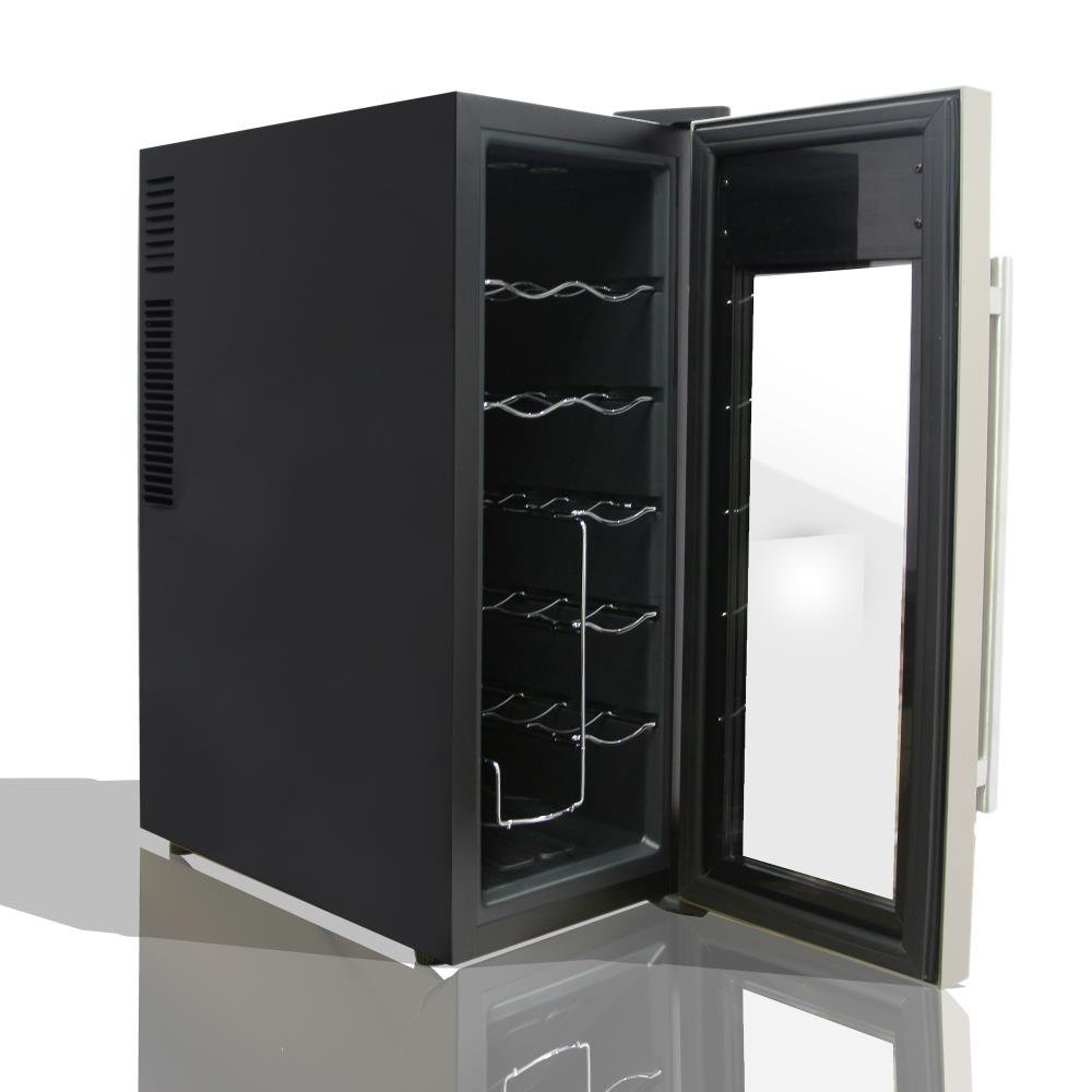 Integrated Wine Cabinet Amazoncom Nutrichef Thermoelectric Counter Top Wine Cooler