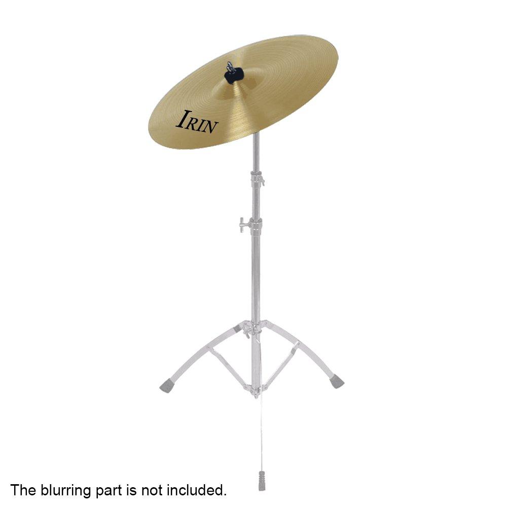 'ammoon 12Aleación de latón Crash giro Hi-Hat platos Box para I jugadores Drum Set Estudiantes Principiantes Profesionales
