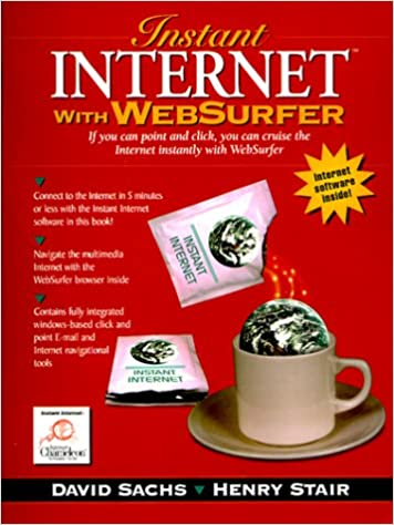 Book Instant Internet with WebSurfer: Windows Version