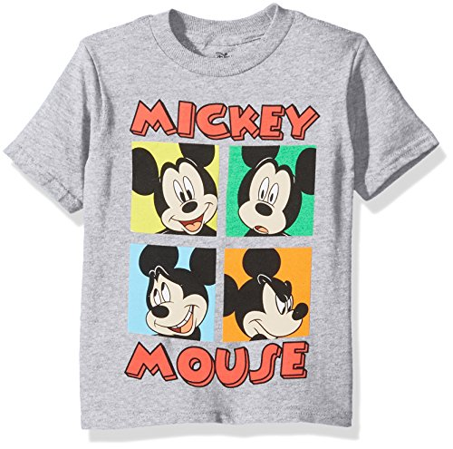 Disney Boys' Mickey Mouse Short Sleeve T-Shirt