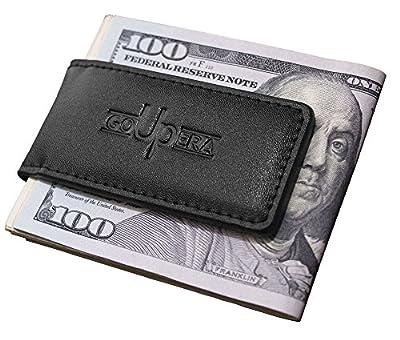 Magnetic Money Clip Wallets for Men - Mens Leather Money Clips - Cash Holder