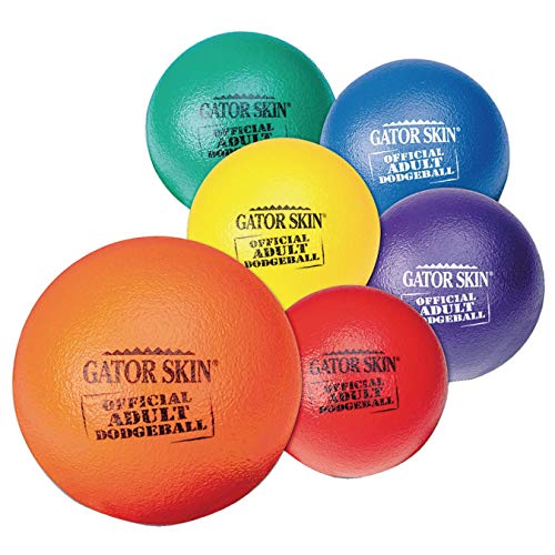 S&S Worldwide UA801-6C Gator Skin Official Adult Dodgeball, (Pack of 6) by S&S Worldwide (Image #3)