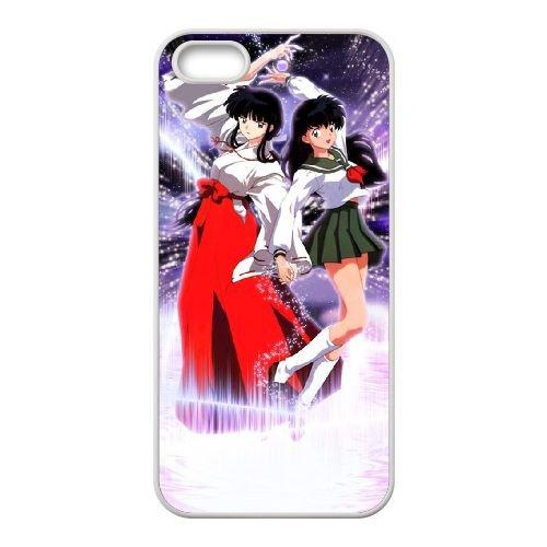 Y4I52 Inuyasha R7K3PO coque iPhone 4 4s cellule de cas de téléphone couvercle coque blanche WX4LPJ1TE