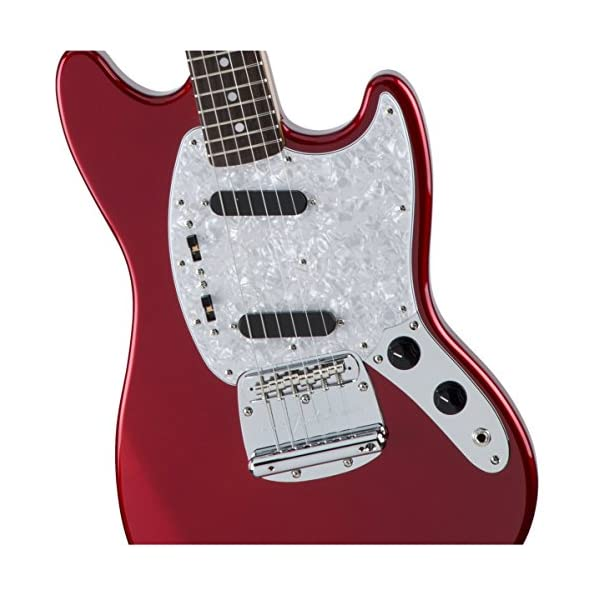 Fender Made in Japan Traditional '70s Mustang Candy Apple Red Rosewood