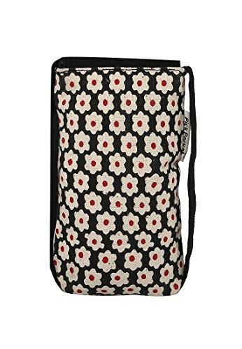 Pick Pocket, Poschette giorno donna Multicolore Nero/Rosso