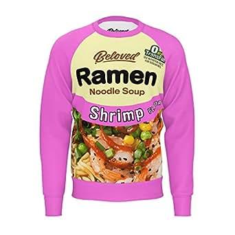 Beloved Shirts Shrimp Ramen Cotton Sweatshirt At Amazon Men S