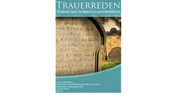 amazoncom trauerreden german edition ebook gustav anders kindle store - Trauerreden Beispiele