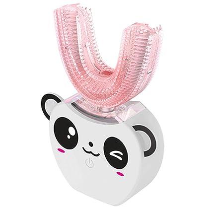 CSFM-Face Automático En Forma de U Cepillo Dientes eléctrico para niños Limpieza 360 Grados