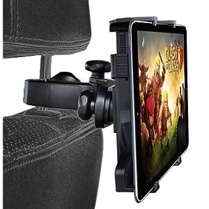 [TARO WORKS] iPad タブレットPC 後部座席用 4.3インチ~11.6インチ 車載アダプターヘッドレスト アーム