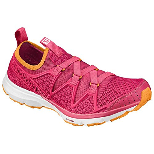 Women's W Shoes Crossamphibian Running Trail Rose 5 Salomon Berry B4OwnSO