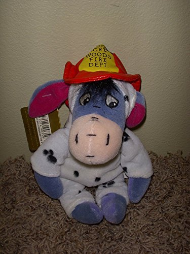 Adorable Disney 100 Acre Woods Eeyore Fireman From Winnie the Pooh 8