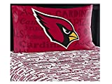 NFL Anthem Arizona Cardinals Bedding Sheet Set: Twin