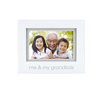 Amazon.com : Pearhead Grandkids Photo Frame, White : Baby