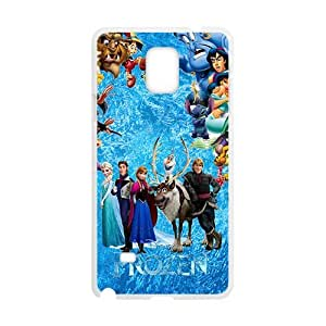 Frozen unique Cell Phone Case for Samsung Galaxy Note4