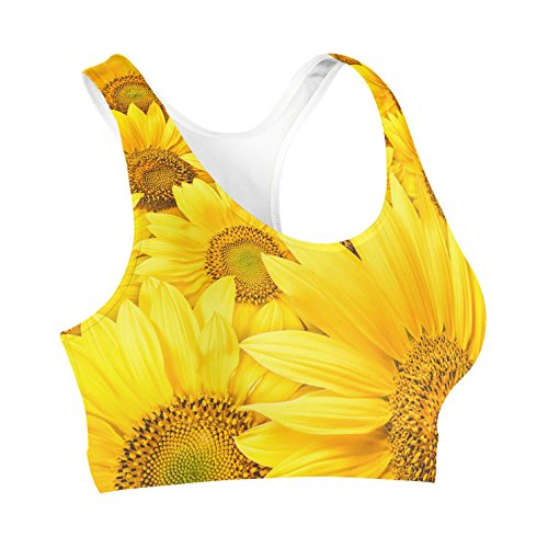 Queen of Cases - Soutien-gorge - Femme jaune Yellow One Size