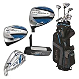 Tour Edge Male Bazooka 360 Varsity Box 2×6 Set (Men's, Left Hand, Graphite, Uniflex, Varsity Set), Black/Blue, Varsity Set For Sale