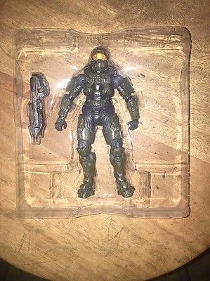 Shalleen HALO 4 MASTER CHIEF ACTION FIGURE SERIES 1 McFARLANE TOYS RAIL GUN COMPLETE HTF (Halo Master Chief Pop)