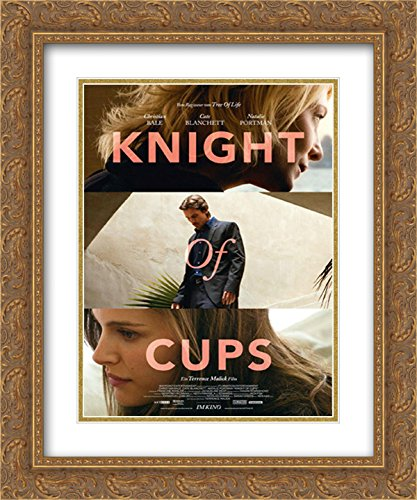 Amazon com: Knight of Cups 20x24 Double Matted Gold Ornate
