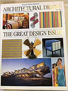 Architectural Digest Magazines Many to Choose From 2004 to Present Great Cond