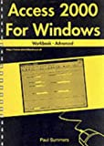 Access 2000 for Windows Workbook: Advanced