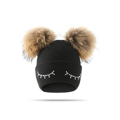 Tcare Sombrero de bebe, gorro de lana para niños, gorra de ...