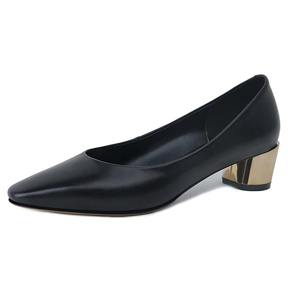 XZGC Damenschuhe in Leder mit Spitzen Arbeit Bequeme Schuhe