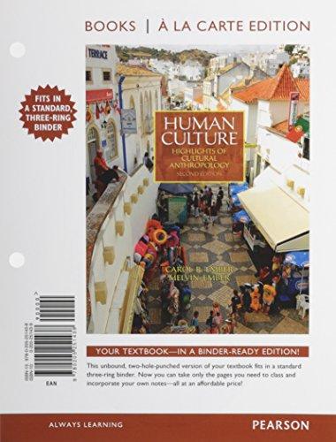 Human Culture, Books a la Carte Edition (2nd Edition)