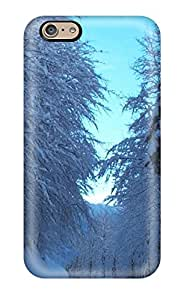 Durable Case For The Iphone 6- Eco-friendly Retail Packaging(snow S)