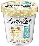 Arctic Zero Ice Cream, Banana Pudding, 16 Fluid Ounce (Pack of 6)