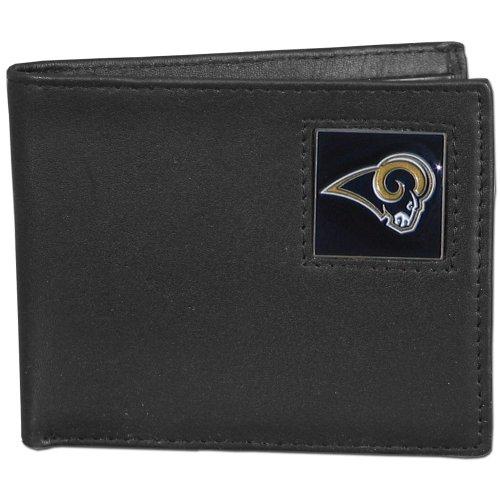 NFL St. Louis Rams Leather Bi-fold Wallet by Siskiyou