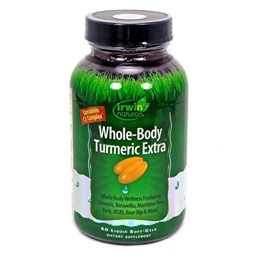 Whole Body Turmeric Extra Irwin Naturals 60 Softgel