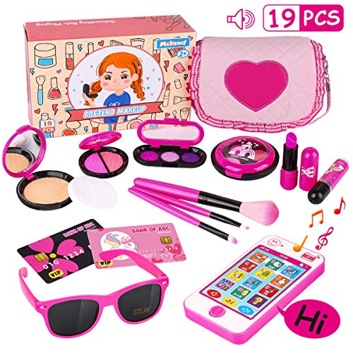 Kids Makeup Kit - Girl Pretend Play Makeup