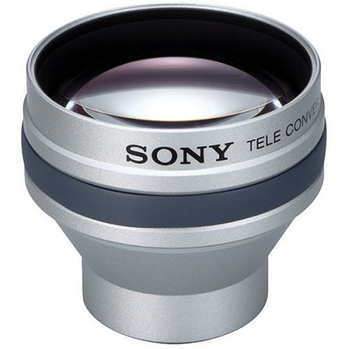 Sony VCLHG2025 Telescopic Conversion Lens for DCR-DVD101, 201, 301, 105, 205, 305, DCR-HC21, 32, 43, 26, 36 & 46 Camcorders by Sony