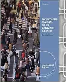 fundamental statistics for the behavioral sciences pdf