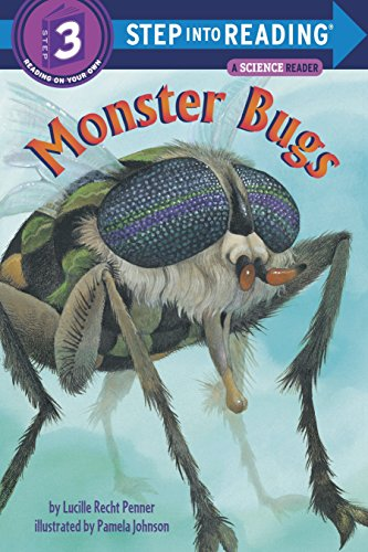 Reading Bug - Monster Bugs (Step-Into-Reading, Step 3)