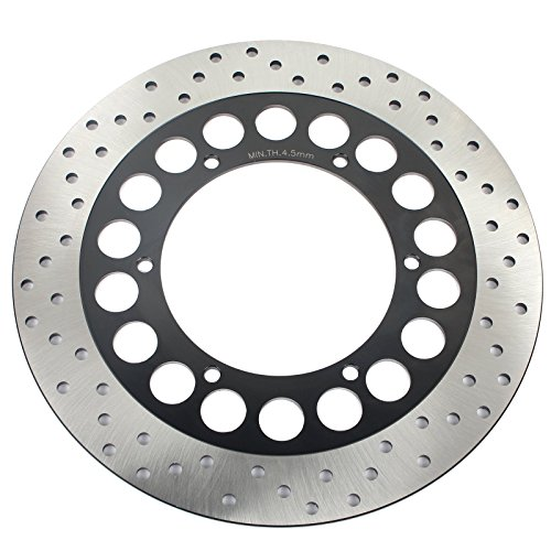 TARAZON 298mm Front Brake Rotor Disc Yamaha V-Star Classic XVS650 XVS 650 98-17 XV535 S Virago 95-03 XVS 1100 V-Star Classic Custom 1999-2009 00 01 02 03 04 05 06 07 08 Royal Star XVZ 1300