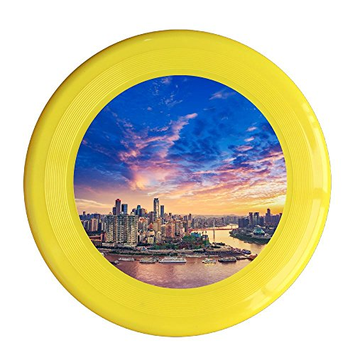 - Skkoka Frisbee Dameisha City Fresh And Natural Beauty Vast Water Endless Wilderness Natural Frisbee Family Fun Group Game Variety Of Colors Durable Frisbee Yellow
