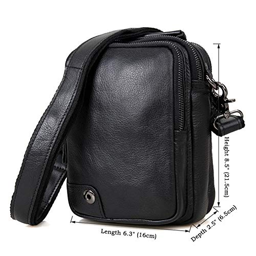 Sacs Pochettes À Pratiques Bandoulière Black M Black Hommes Simples Size color Messenger Pour Et Bags rqrgwXd