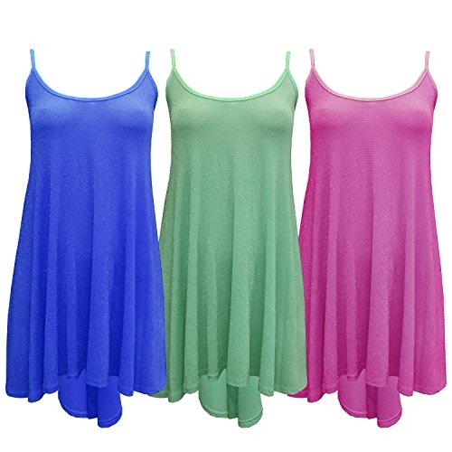 LessThanTenQuid - Camiseta sin mangas - para mujer azul real