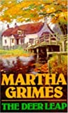 Front cover for the book The Deer Leap by Martha Grimes