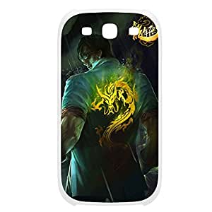 LeeSin-009 League of Legends LoL case cover HTC One M7 Plastic White