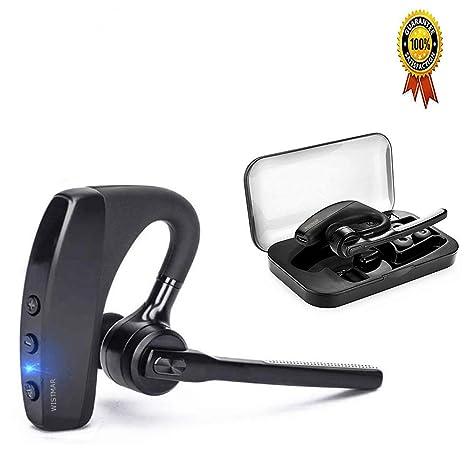 b555f7074a5 [ Latest Version] WISTMAR SoundBuds Slim Bluetooth Wireless Headset Ear  Hooks Business HD Stereo Earphones